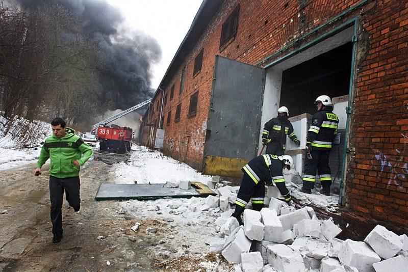 Reportaż z działań Straży Pożarnej