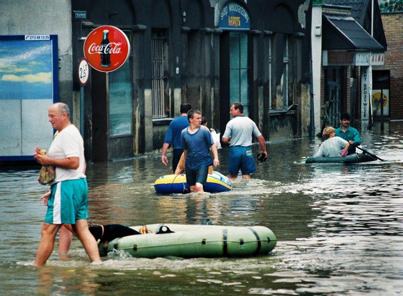 Reportaż z wypadków drogowych i katastrof naturalnych
